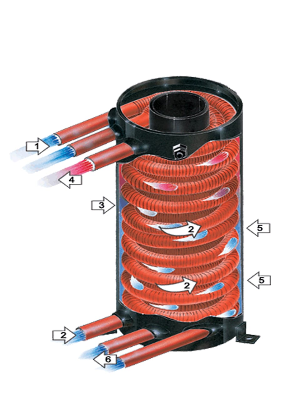 Labeled exchanger